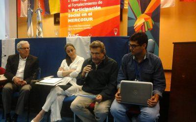 Unidad de Apoyo a la Participación Social- MERCOSUR (24/11/2014)