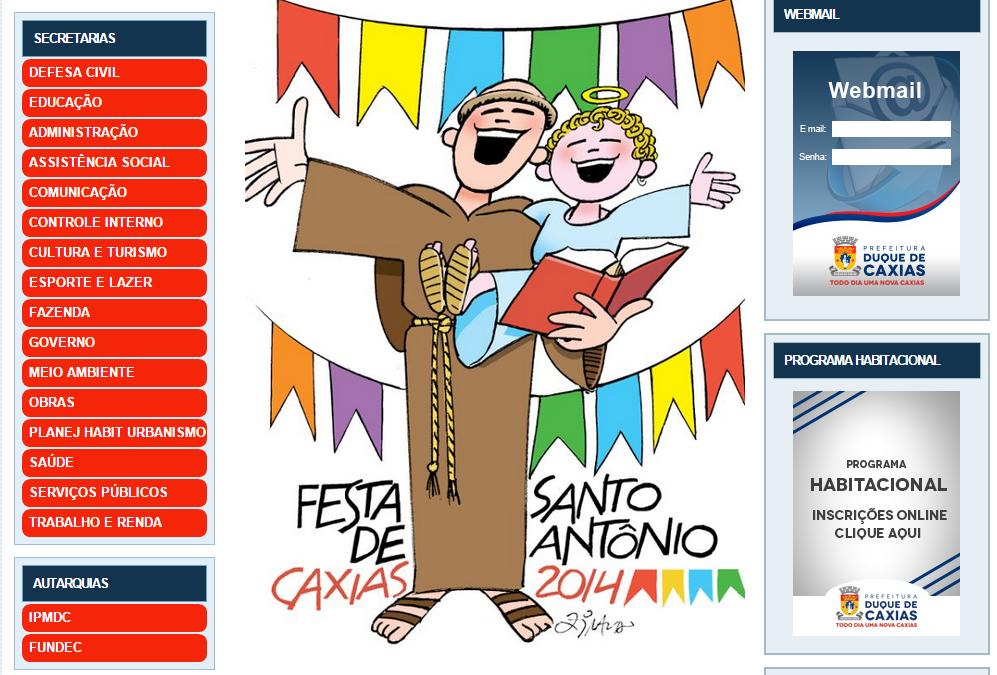 Aplicativo para a Prefeitura de Duque de Caxias-RJ
