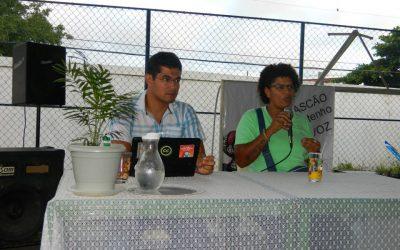 Seminário sobre Comunicação no Colégio Estadual José Rascão