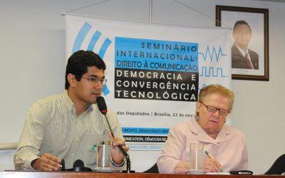 Seminário Internacional 'Direito à Comunicação, Democracia e Convergência Tecnológica'